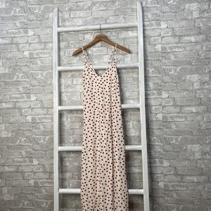 Reformation Kat Dress Polka Dot Midi Size 6